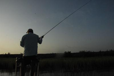 Aging fishermen