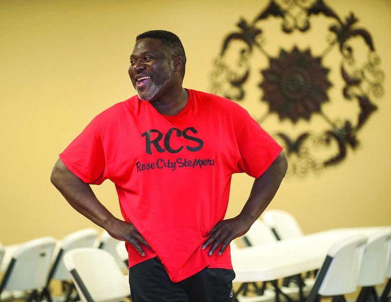 Tyler groups Rose City Steppers and Rose City Swingerz dance to R&B