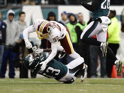After 'obvious cheap shot' on Philadelphia Eagle Darren Sproles, Washington's Deshazor Everett criticized