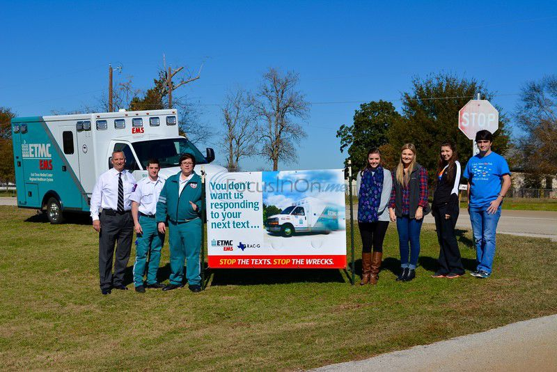 ETMC EMS reminds East Texans to put down the phone while driving in ongoing campaign