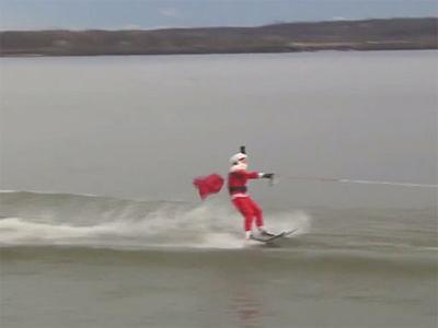 Papa Noel and Santa's water-ski club of Washington, D.C.
