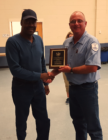Tyler wastewater operator receives Operator of Year Award
