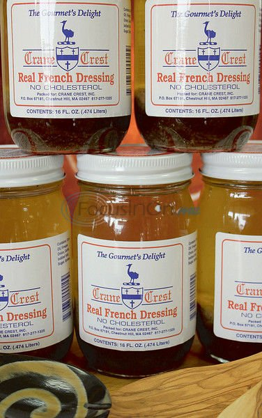 Salad dressing worthy of presidential approval
