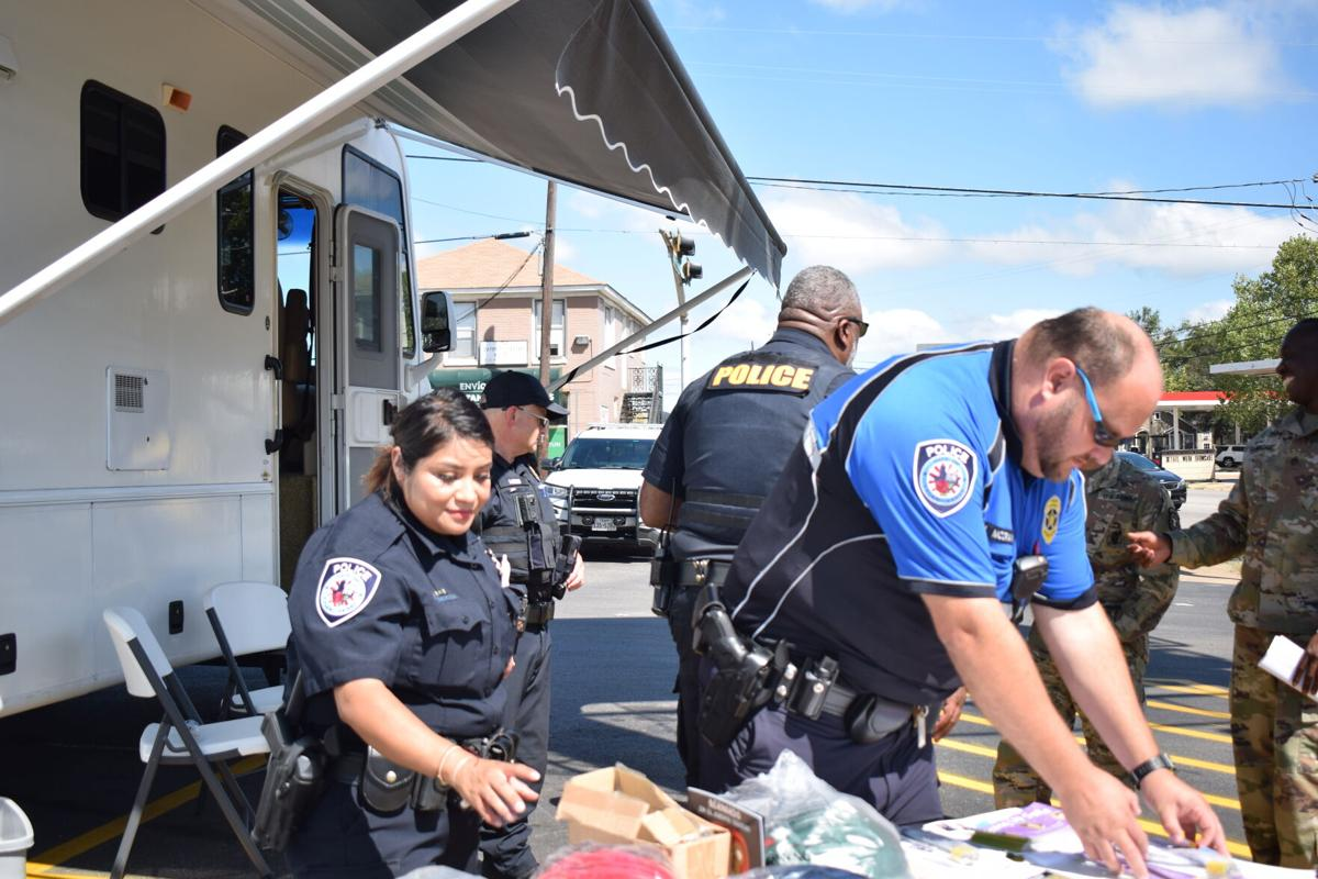 Tyler Police Department host outreach event for Hispanic community, north east Tyler