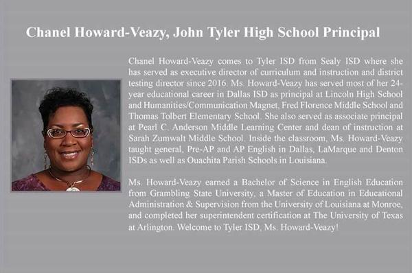 Four Tyler ISD schools get new principals | Local News | tylerpaper.com
