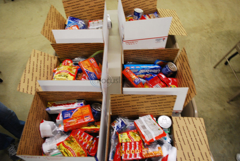 Locals shipping off goodies, essentials to deployed soldiers