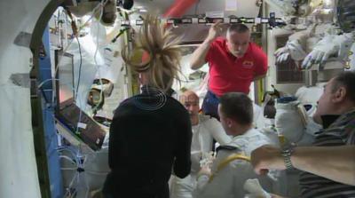 VIDEO: NASA aborts spacewalk due to water leak in helmet