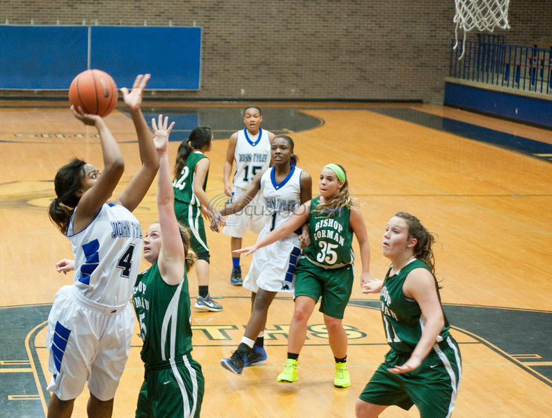 Lady Lions down Gorman in brother-vs.-brother matchup