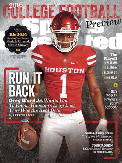 Tyler's Greg Ward on cover of Sports Illustrated