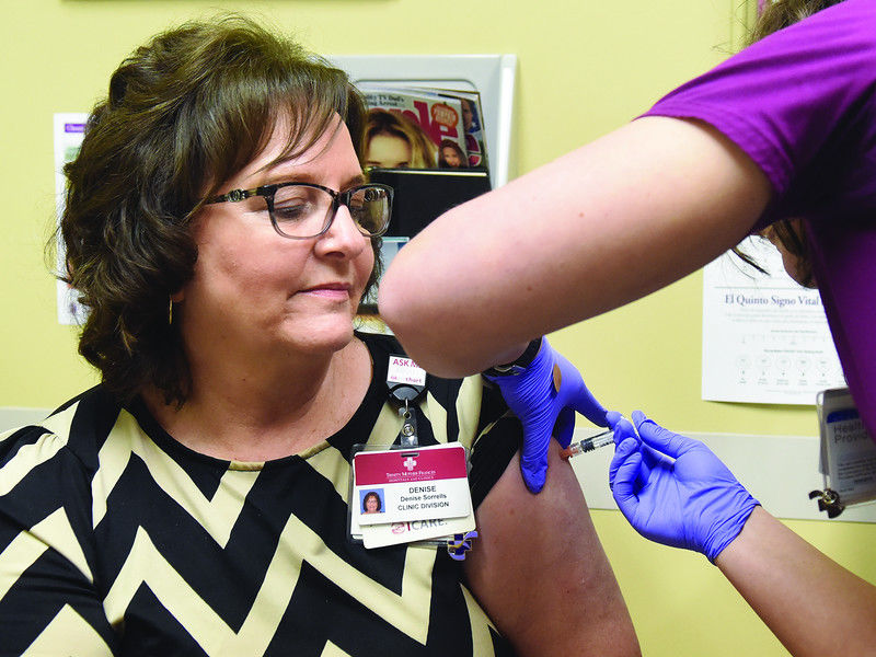 Local health officials give advice about how to avoid catching the flu