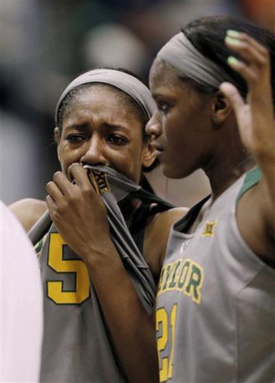 Baylor women lose in regional final for 3rd season in a row