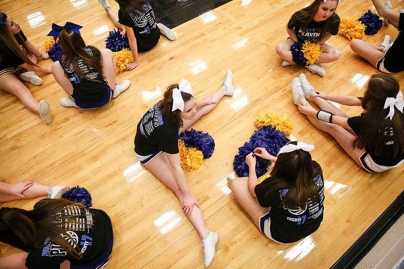 Gilmer defeats Brownsboro in area girls basketball playoff