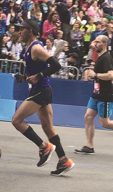 East Texans tackle race, set personal best times