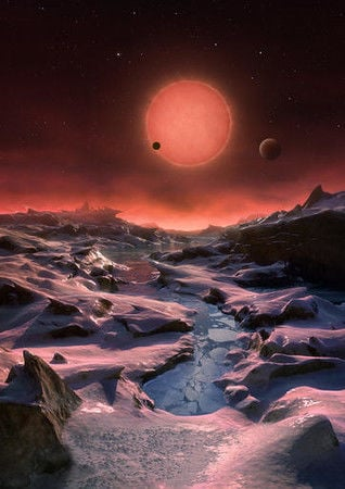 Extraterrestrial life could be 40 light-years away