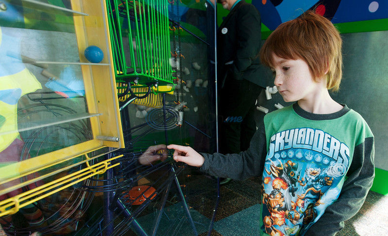 Discovery Science Place - Minds In Motion: Physics exhibit for kids opens