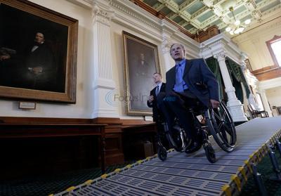 Disability advocates keep close watch on Texas Gov. Greg Abbott