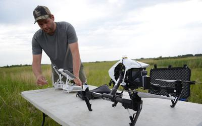 Dallas Safari Club grant to support Delta Waterfowl drone research