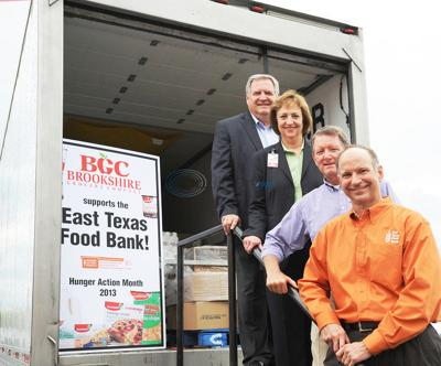 Brookshire's donates 40,000 pounds of food to the East Texas Food Bank Thursday