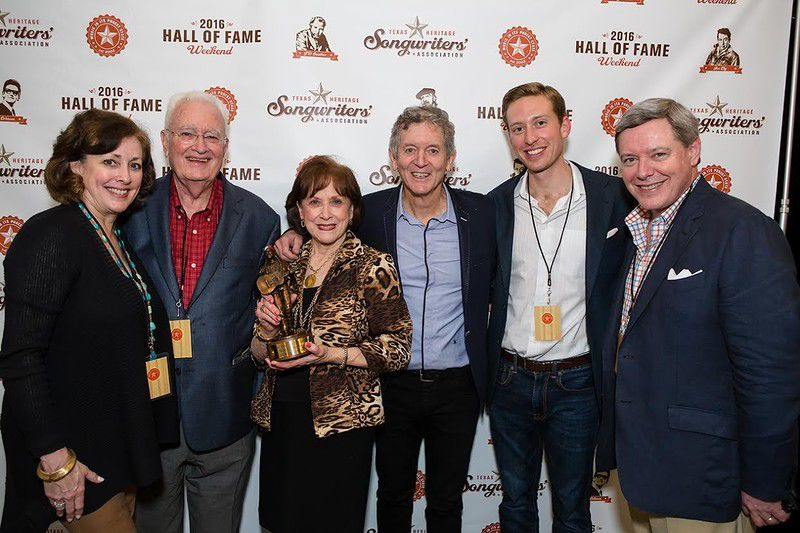 Will Jennings inducted into Texas Heritage Songwriters' Hall of Fame