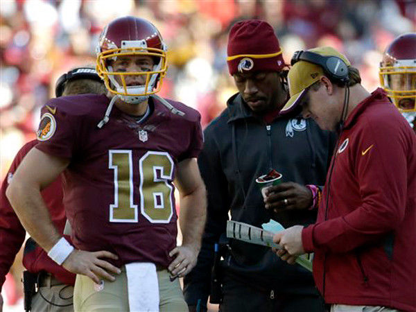 Redskins' Gruden: RG3 is 'wild card' for Monday