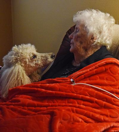 Poodles bring cheer to East Texas nursing home residents