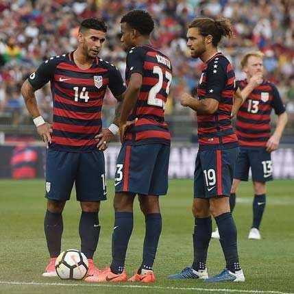 It may be American 'B' team, but final finish lasts forever