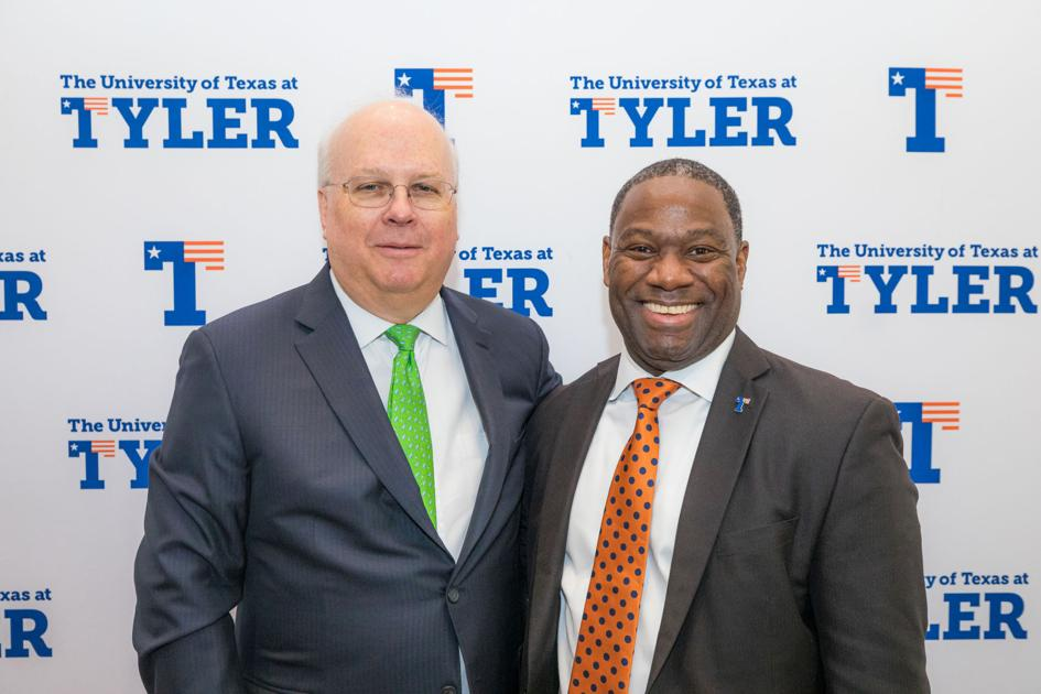 UT Tyler Leaders and Legends events brings the perspective of Karl Rove to East Texas