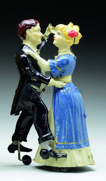 Early wind-up toys included dancing couples