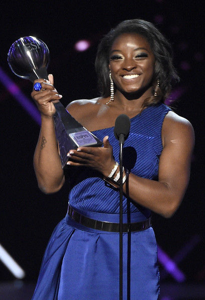 Biles, Westbrook earn top honors at ESPYs