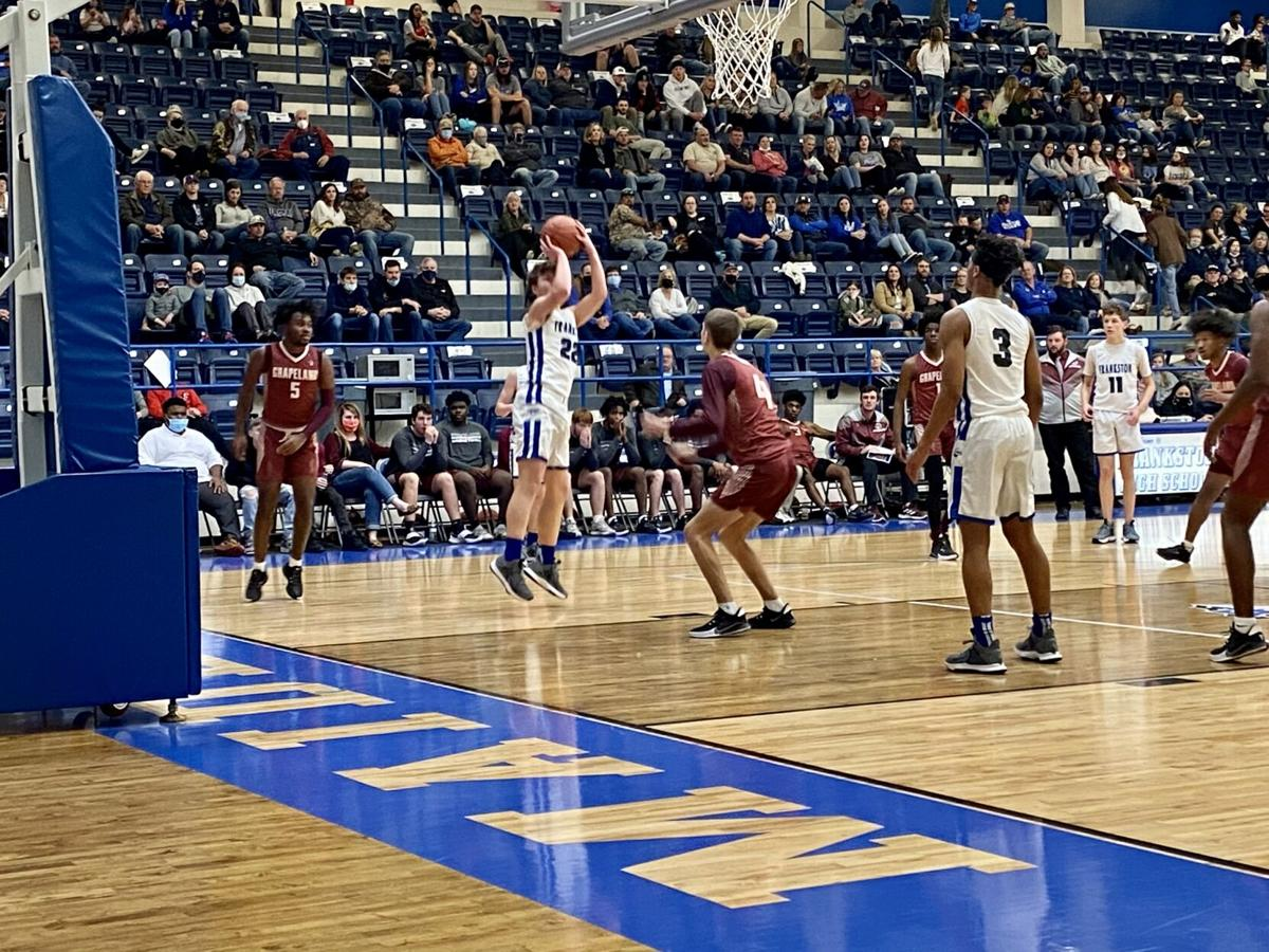 Grapeland vs. Frankston basketball