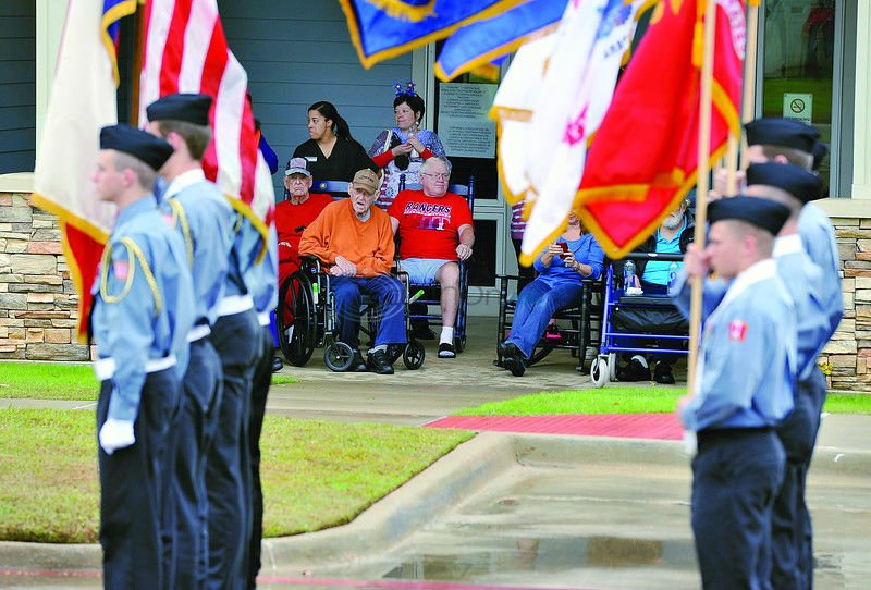 Watkins-Logan Texas State Veterans Home hosts second annual Veterans day parade