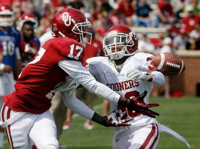 Former Whitehouse, OU receiver charged with indecent exposure