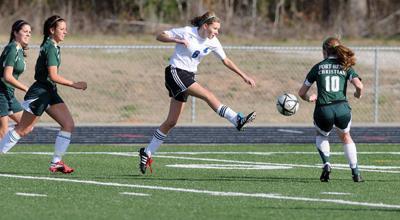 Grace splits soccer playoff DH