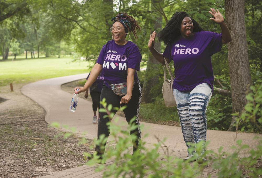 Women on annual walk share stories of survival
