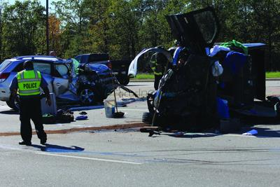 One dead, two injured in Wednesday wreck