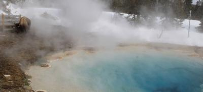 Fire and Ice: The breathtaking beauty of Yellowstone in winter brings journalist to tears