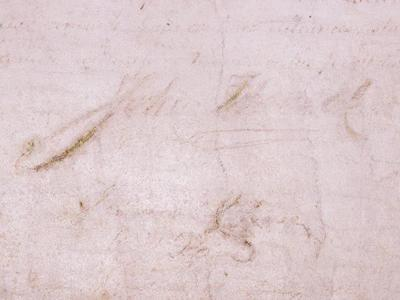 Has the Declaration of Independence been defaced? Experts say yes.