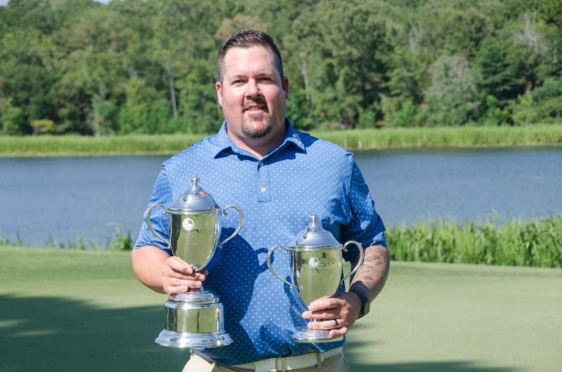Ben Kern with trophies