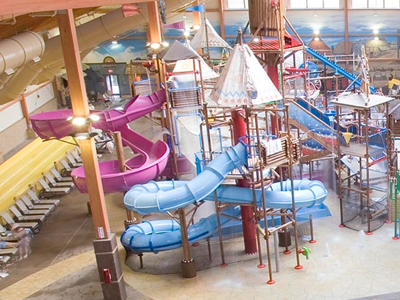 College students bunk at water park amid housing squeeze