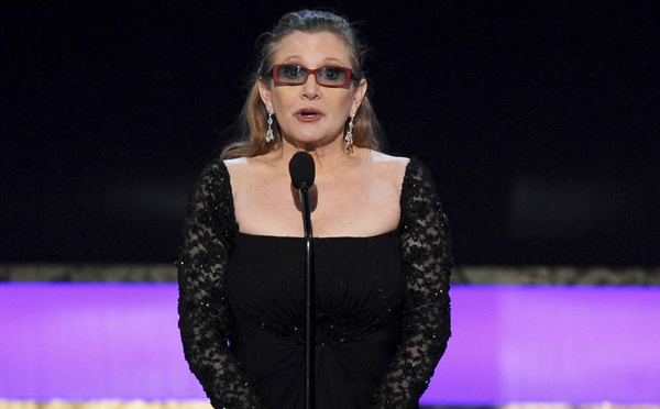 Carrie Fisher, Star Wars actress has died at age 60