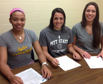 TJC Notebook: Three Apache Lady spikers sign scholarships