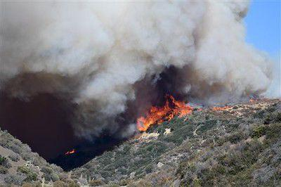 Monstrous California wildfire drives over 80,000 from homes
