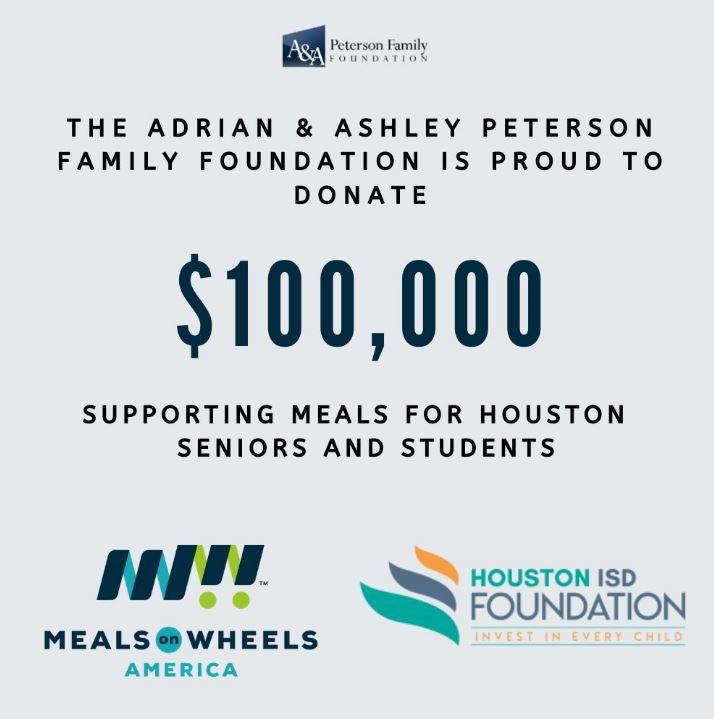 Adrian & Ashley Peterson Family Foundation