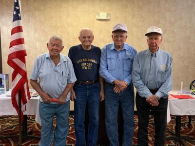 World War II Navy veterans reunite in Tyler