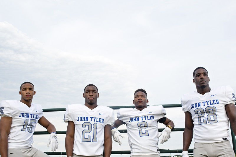 John Tyler battles Ennis in CTMF Football Classic