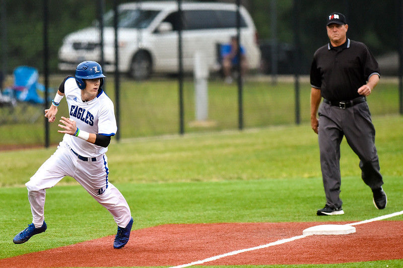 Lindale run-rules Whitehouse 12-2 to clinch share of 17-5A baseball title; same two teams meet again Friday