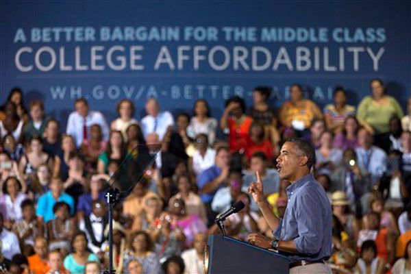 NEW: What does Obama want to do with college costs?