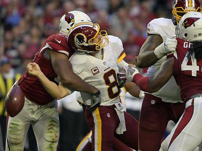 Washington comes up short in clutch moments as Arizona Cardinals hang on for 31-23 win