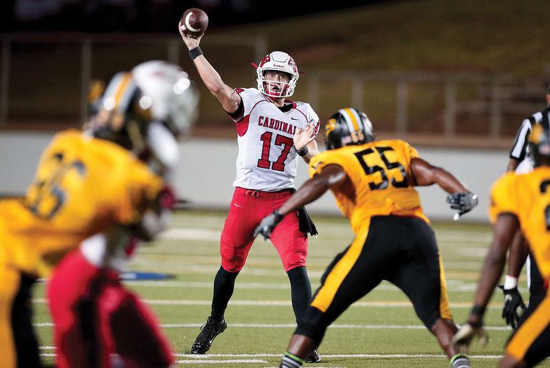 No. 5 Trinity Valley too much for No. 7 TJC, 65-41