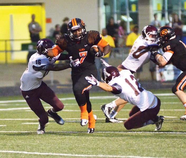 Gilmer blows out Atlanta 57-7 in opener